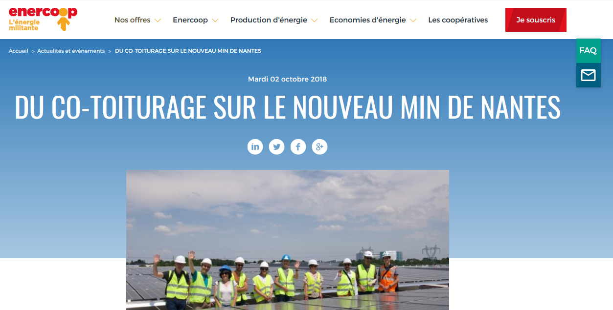 Article Enercoop sur MINaWatt